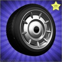 Car wheel 098 3D Model
