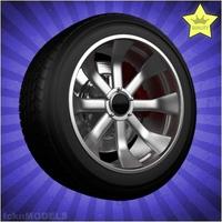 Car wheel 099 3D Model