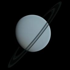 Uranus 3D Model