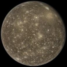 Callisto 3D Model