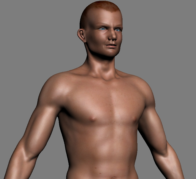 models 3d nude male