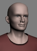 male character generic 3D Model