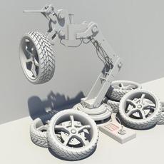 robo hand 3D Model