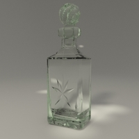 Whisky decanter 3D Model