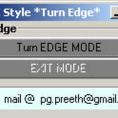 Max Style Turn Edge for MaYa for Maya 1.0.0 (maya script)