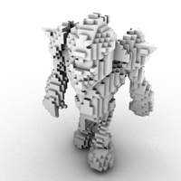 Voxelize Meshes 0.3.0 for Maya (maya script)