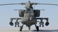 AH-64D Apache Longbow  3D Model