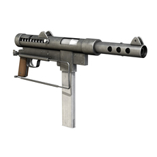 Carl Gustav M45 - Swedish K SMG 3D Model