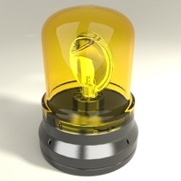 Rotating beacon 3D Model
