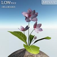 flower 006 3D Model