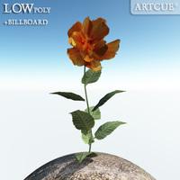 flower_009 3D Model