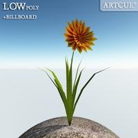 flower 010 3D Model