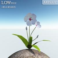 flower 014 3D Model