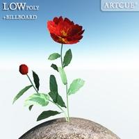 flower 015 3D Model