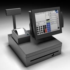 IBM surePOS500 3D Model