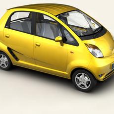 Tata Nano 3D Model