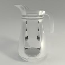 Pitcher 3D Model