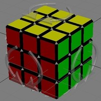 Free Rubik's cube for 3dsmax 0.0.2 (3dsmax script)
