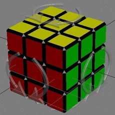 Rubik's cube for 3dsmax 0.0.2 (3dsmax script)