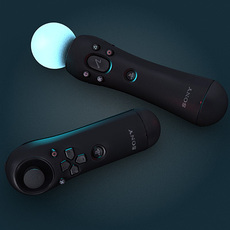 Sony Move Controller 3D Model