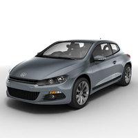Volkswagen Scirocco 3D Model