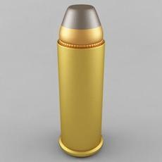 .44 Magnum Cartridge 3D Model