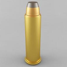 .357 Magnum Cartridge 3D Model