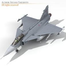 JAS 39A Thai 3D Model
