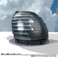 London City Hall 3D Model