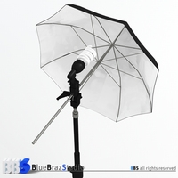 Light Umbrella 3D Model