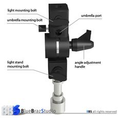 Universal adapter 3D Model