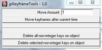 jp Keyframe Tools 1.0.0 for Maya (maya script)
