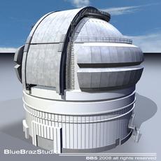 Observatory 3D Model