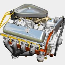 Chevrolet 427 V8 Engine 3D Model