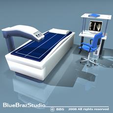 DEXA scanning 3D Model