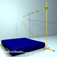 High jump 3D Model