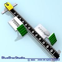 Block start 3D Model