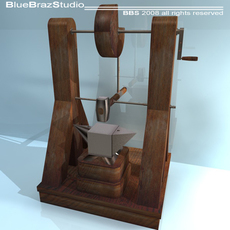 Leonardo Automatic Hammer 3D Model