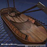 Leonardo Assault battleship 3D Model