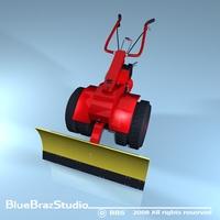 snowblade  3D Model