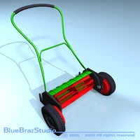 Push Mower 3D Model