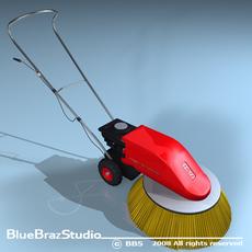 Road Sweeper 3D Model
