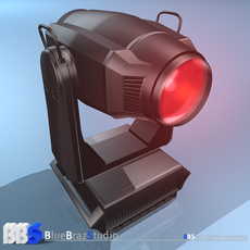 Spot moving head 3D Model