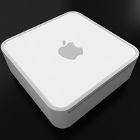 Mac Mini 3D Model
