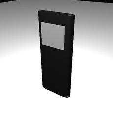Ipod Nano model no texture 3D Model