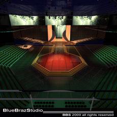 Tv set show 3D Model