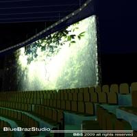 Tv set show 2 3D Model