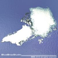 Arctic Greenland 3D Model