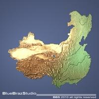 China 3D Model