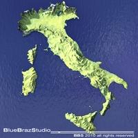 Italy 3D Model